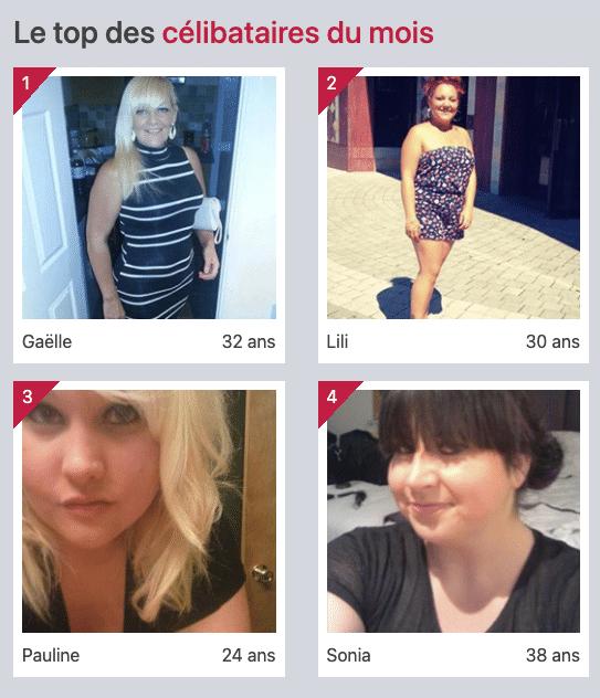 Le top des célibataires du mois